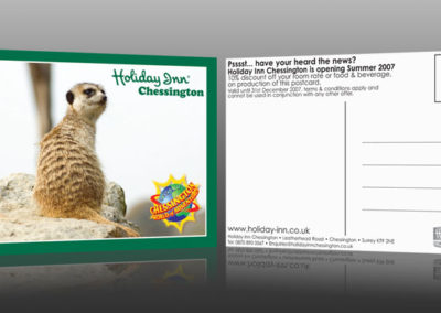 Holiday Inn Chessington Postcards