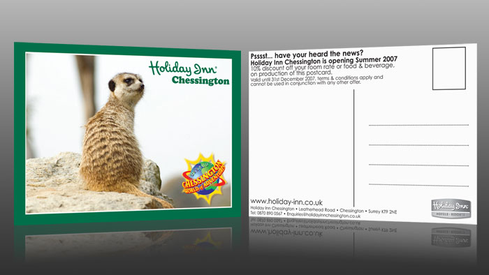 Holiday Inn Chessington World of Adventure Postcards