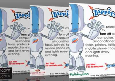 Holiday Inn – Zappit Mascot