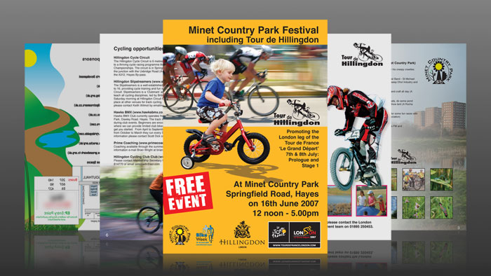 Tour De Hillingdon Poster And Flyers - Poster and Flyer pages