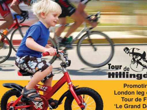 Tour De Hillingdon Poster And Flyers
