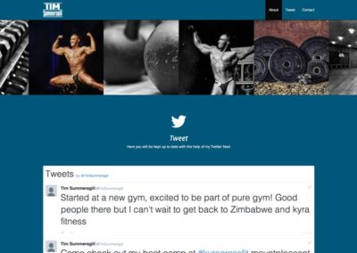 Tim Summersgill Fitness & Bodybuilding