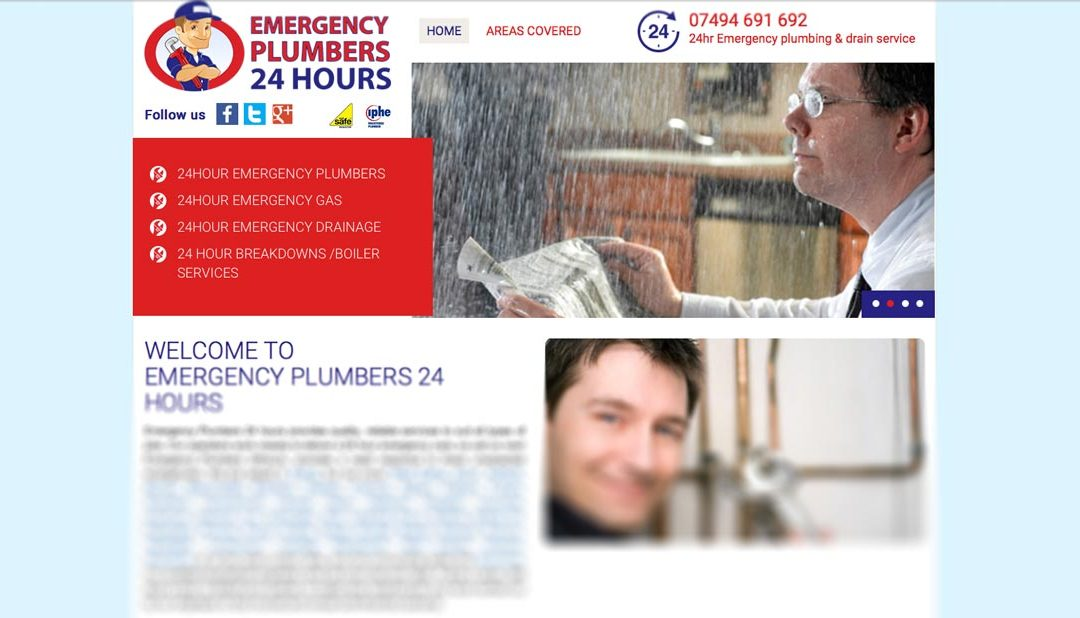 SEO Case Study: Emergency Plumbers 24 Hr