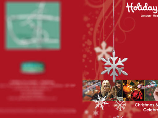 Holiday Inn Festive Flyer Design – Christmas And New Year Flyer
