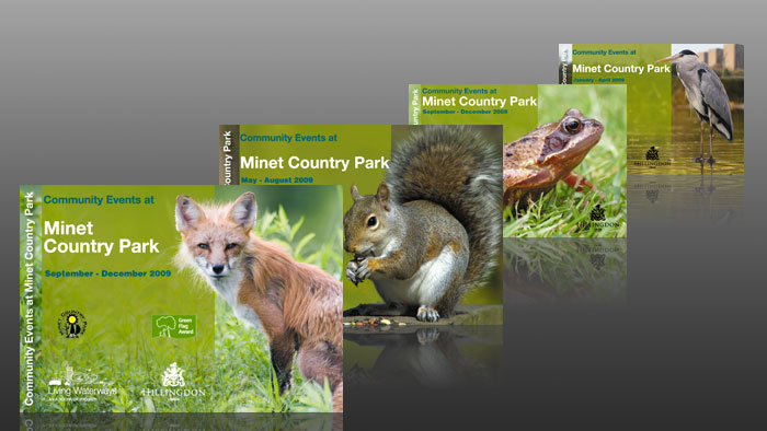 Minet Country Park Booklets