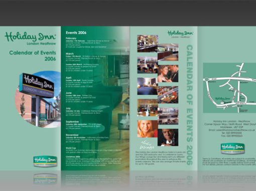 Holiday Inn – Various Flyers