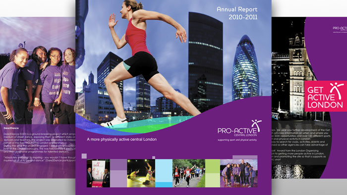 Pro-Active Central London - Front Cover and internal pages