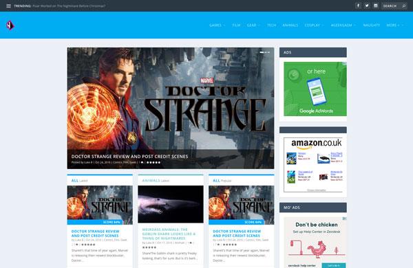 Weirdass Website & Blog
