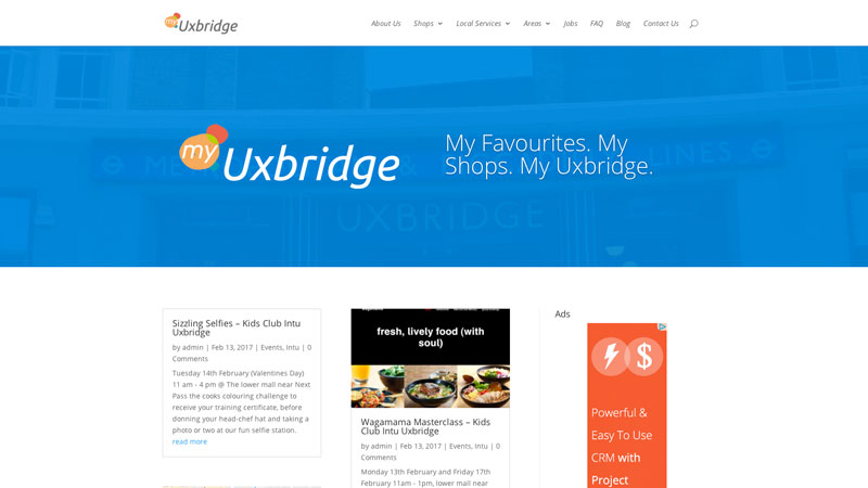 My Uxbridge website