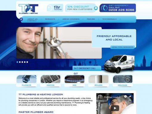 Plumber SEO Case Study: TT Plumbing & Heating