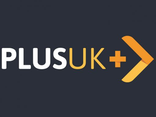Plus UK Logistics Logo
